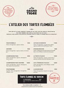 carte grand tigre